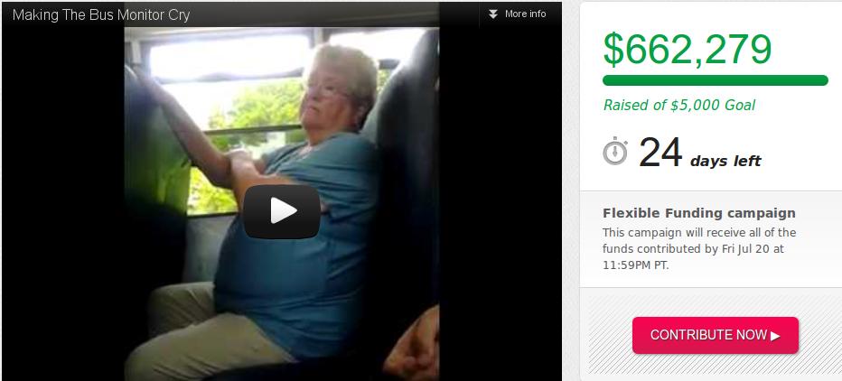Bullied Bus Monitor Karen Klein Indie GoGo